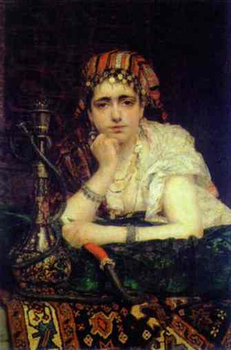 Odalisque 1875 | Vasily Polenov | oil painting