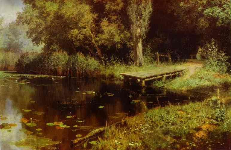 Pond 1879 | Vasily Polenov | oil painting