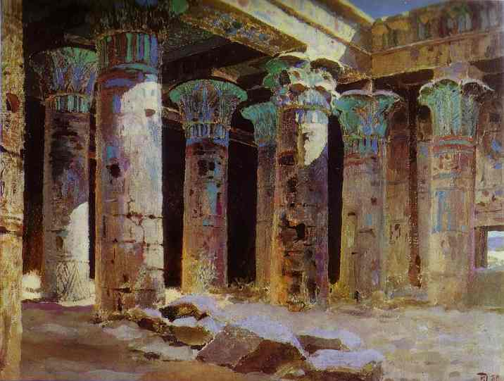 The Temple Of Isis 1882 | Vasily Polenov | oil painting