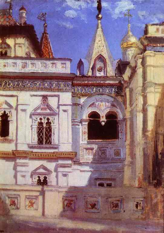 The Teremny Palace 1877 | Vasily Polenov | oil painting