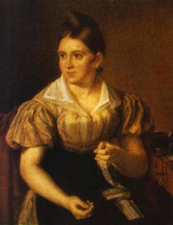 Lace Making 1830 | Vasily Tropinin | oil painting