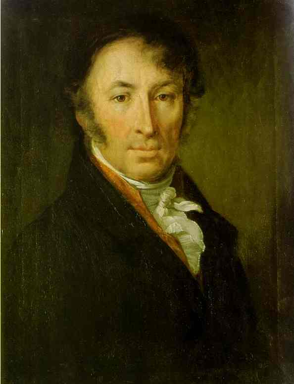 Portrait Of The Writer And Historian Nm Karamzin 1818 | Vasily Tropinin | oil painting