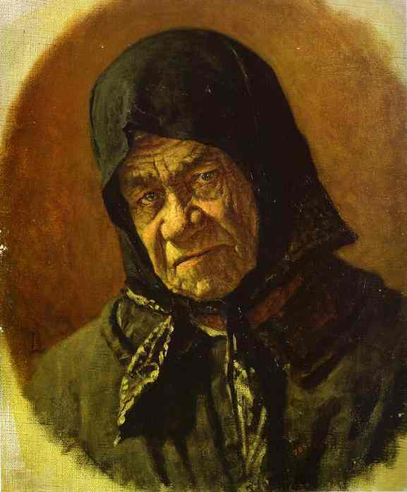 Beggar Ninety Six Years Old 1891 | Vasily Vereshchagin | oil painting