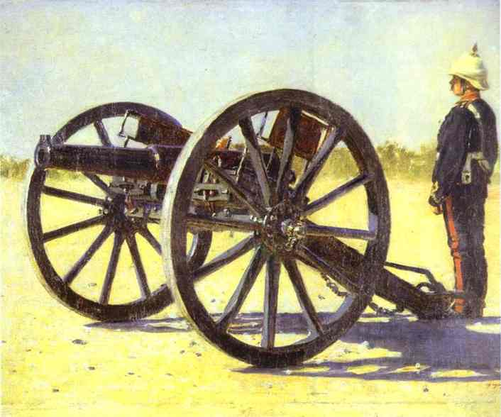 Captured With Arms Shoot Them 1887-1895 | Vasily Vereshchagin | oil painting