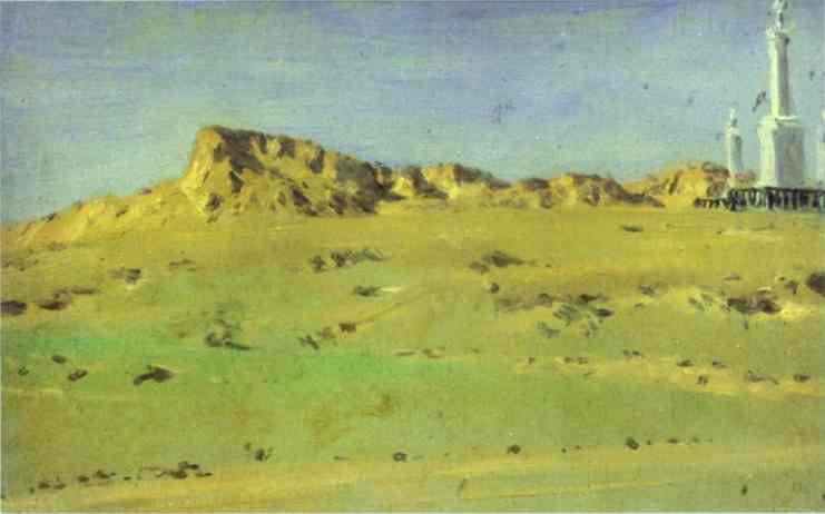 Corner Of The Turkish Redoubt 1877 | Vasily Vereshchagin | oil painting