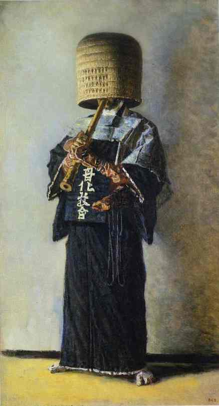 Japanese Beggar | Vasily Vereshchagin | oil painting