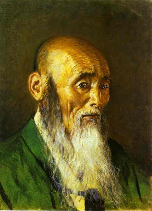 Japanese Priest | Vasily Vereshchagin | oil painting