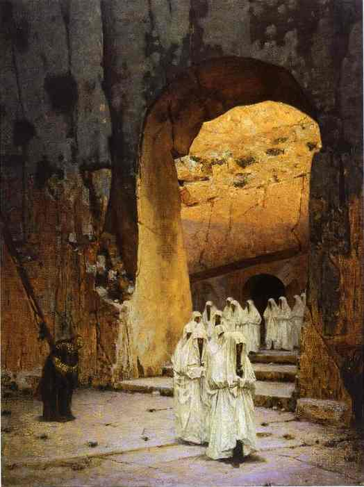 Jerusalem Kings Tombs 1884-1885 | Vasily Vereshchagin | oil painting
