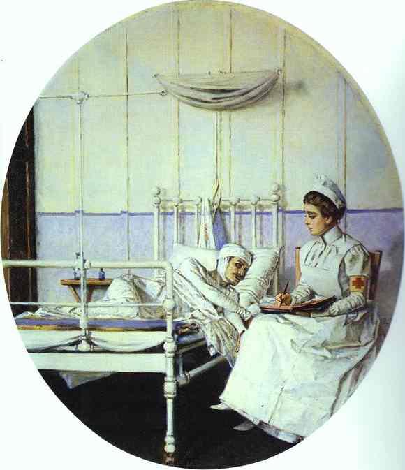 Letter To Mother 1901 | Vasily Vereshchagin | oil painting
