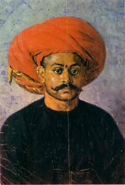 Sowar The Messenger Of The Government 1874-1876 | Vasily Vereshchagin | oil painting