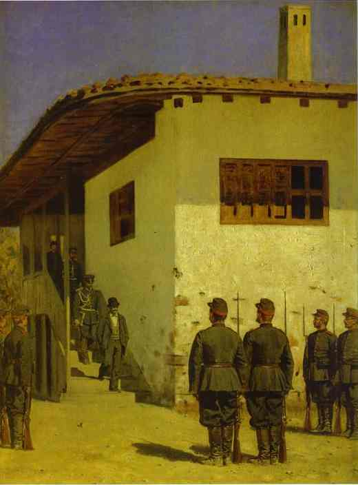 Spy 1878-1879 | Vasily Vereshchagin | oil painting