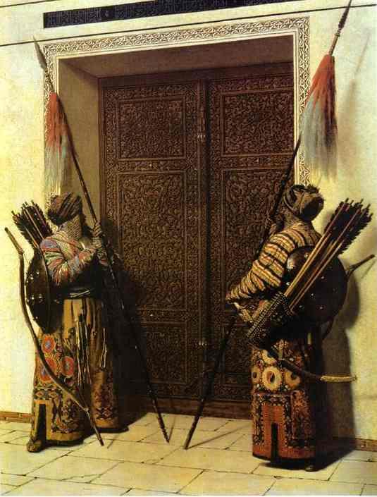 The Doors Of Tamerlane 1872-1873 | Vasily Vereshchagin | oil painting