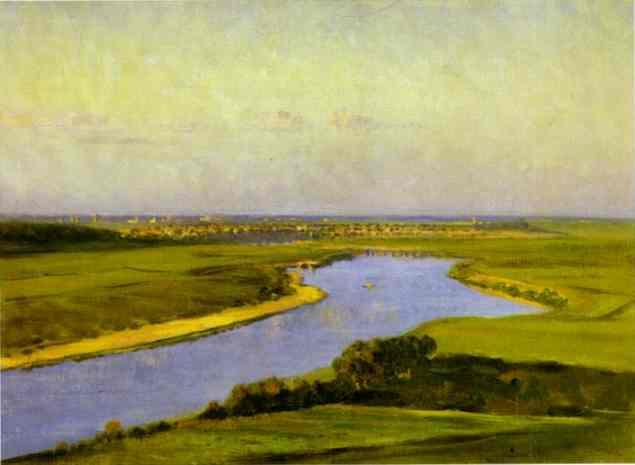 The Northern Dvina 1894 | Vasily Vereshchagin | oil painting