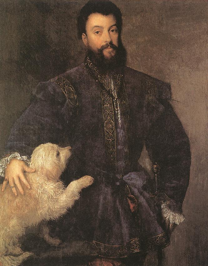 Federigo Gonzaga Duke Of Mantua 1525-30 | Vecellio Tiziano | oil painting