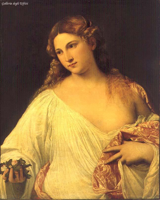Flora 1515 | Vecellio Tiziano | oil painting