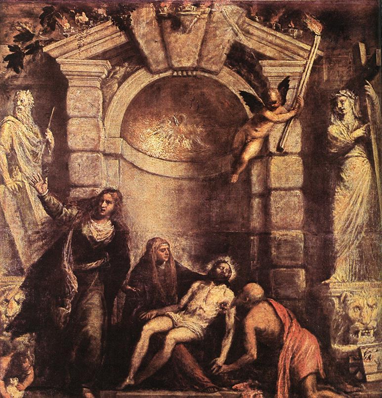 Pieta 1576 | Vecellio Tiziano | oil painting
