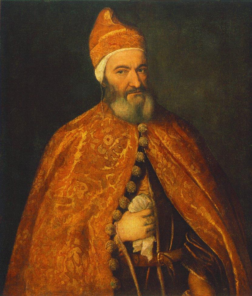 Portrait Of Marcantonio Trevisani 1554 | Vecellio Tiziano | oil painting