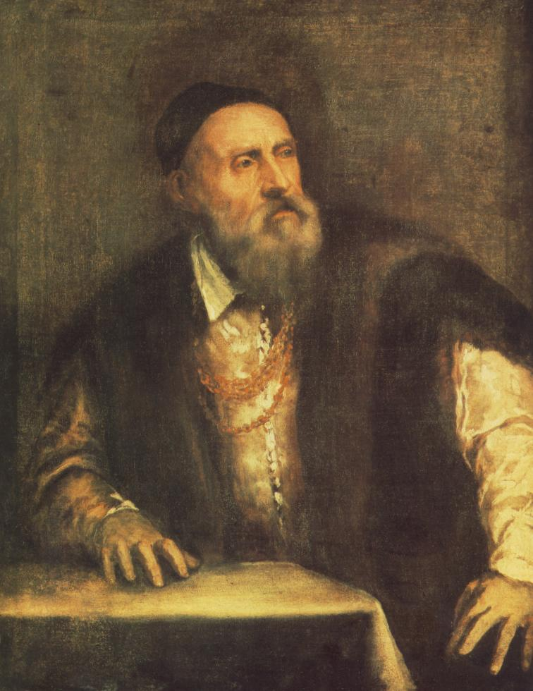 Self Portrait 1562 | Vecellio Tiziano | oil painting
