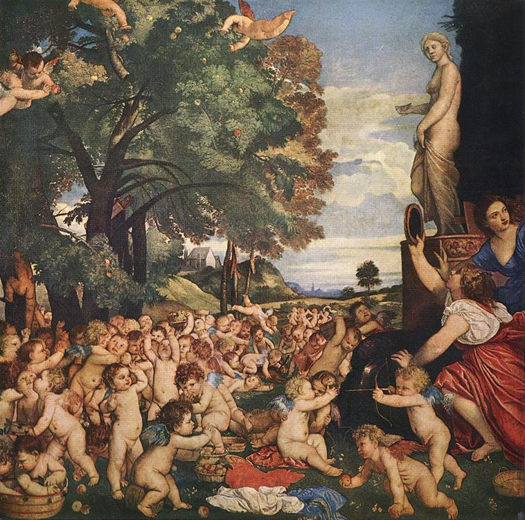 Worship Of Venus 1519 | Vecellio Tiziano | oil painting