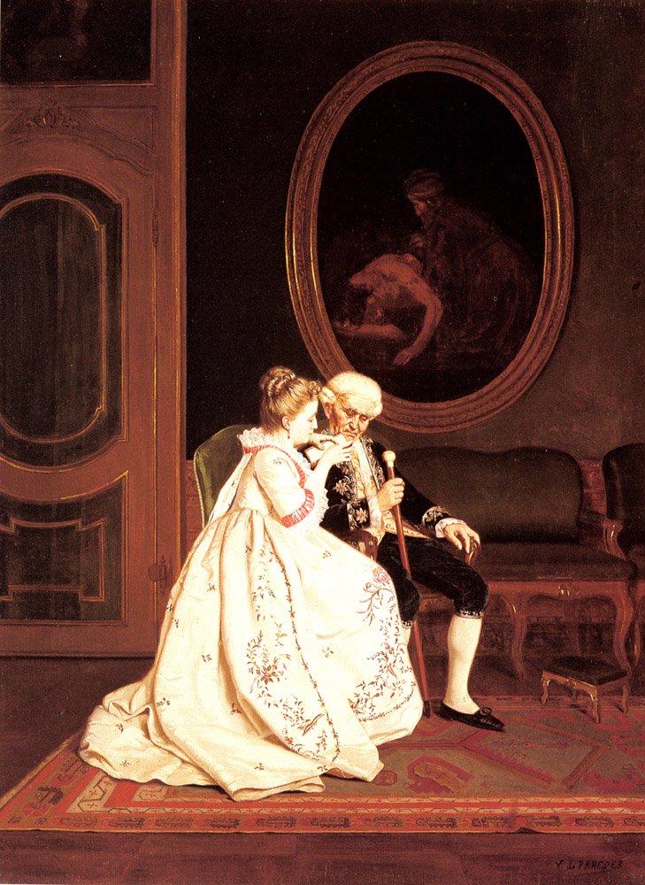 The Reading | Vicente De Parades | oil painting