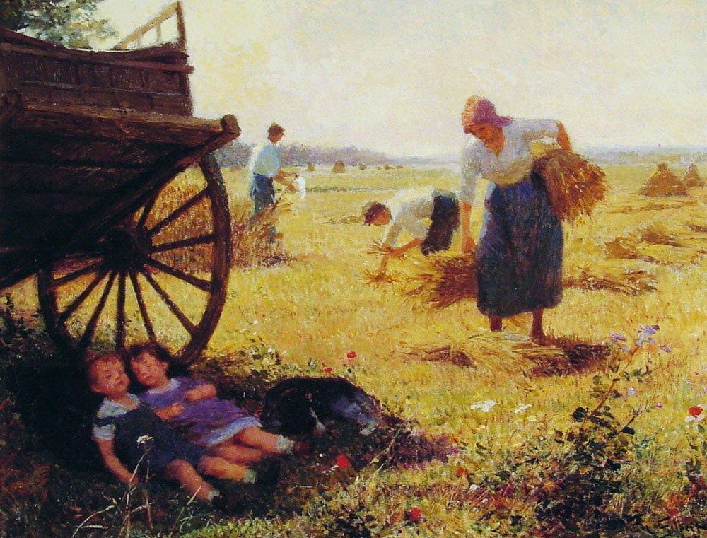 Haymaking | Victor Gabriel Gilbert | oil painting