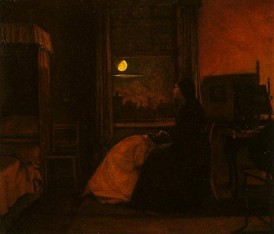 Past And Present(No.2) | Augustus Leopold Egg | oil painting