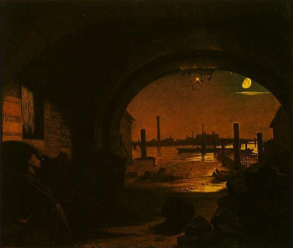 Past And Present(No.3) | Augustus Leopold Egg | oil painting