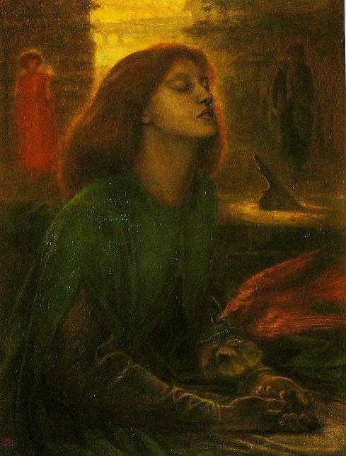 Beata Beatrix | Dante Gabriel Rossetti | oil painting