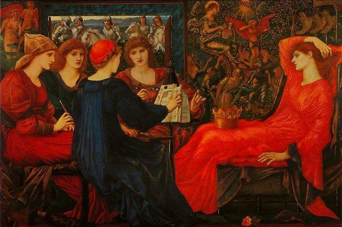 Lans Veneris | Edward Burne-Jones | oil painting