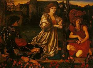 Le Chant D'amour | Edward Burne-Jones | oil painting