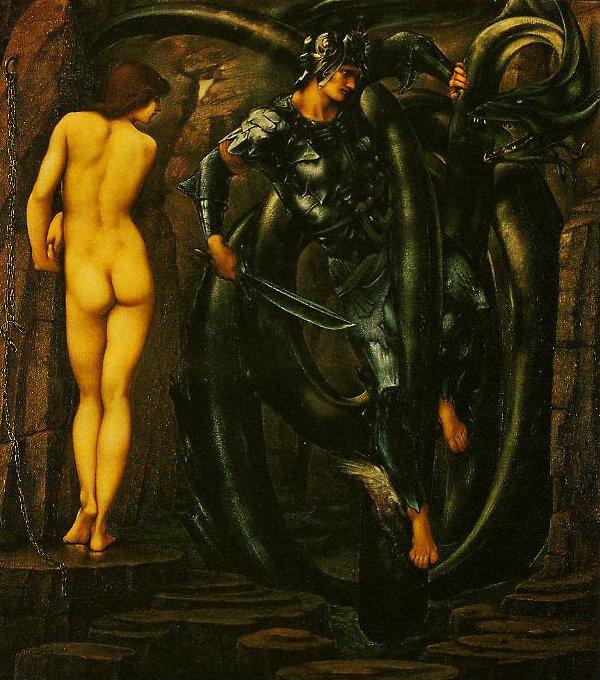 The Doom Fulfilled | Edward Burne-Jones | oil painting