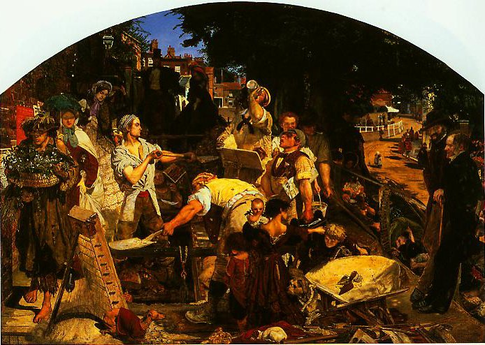 Work | Ford Madox Brown | oil painting