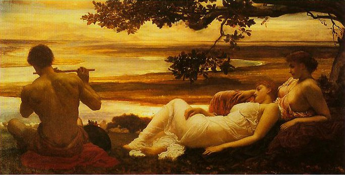Idyll | Frederic Leighton | oil painting