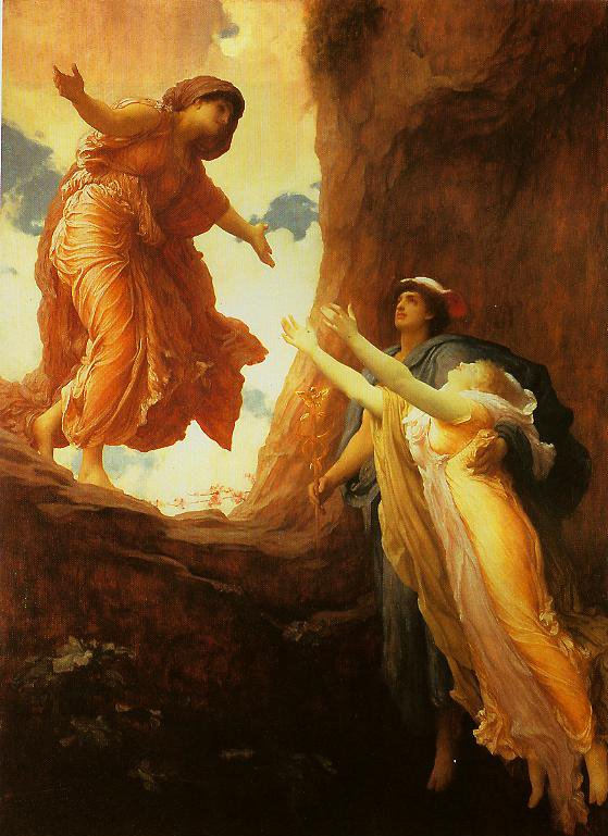 The Return Of Persephone | Frederic Leighton | oil painting