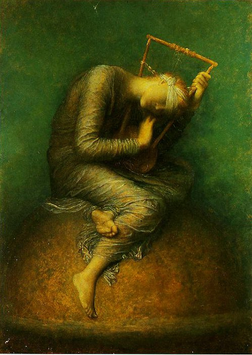 Hope | George Frederic Watts | oil painting