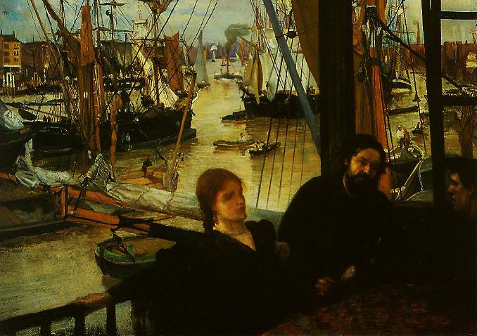 Wapping | James Mcneill Whistler | oil painting