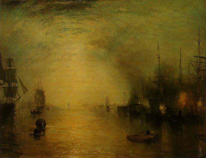 Keelmen Heaving In Coals By Night | Joesph Mallord William Turner | oil painting