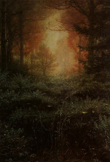 Dew Drenched Furze | John Everett Millais | oil painting