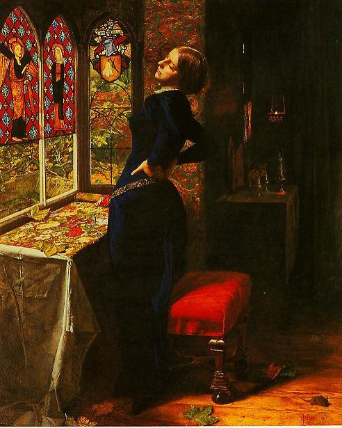 Mariana | John Everett Millais | oil painting