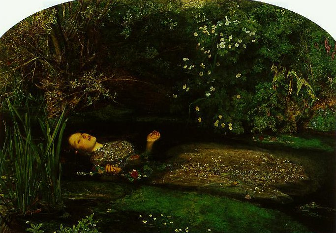 Ophelia | John Everett Millais | oil painting