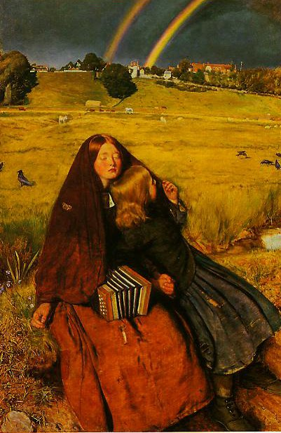 The Blind Girl | John Everett Millais | oil painting