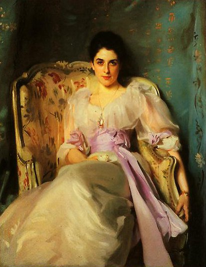Lady Agnew Of Lochnaw | John Singer Sargent | oil painting