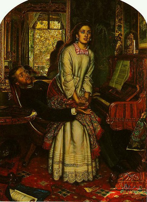 The Awakening Conscience | William Holman Hunt | oil painting