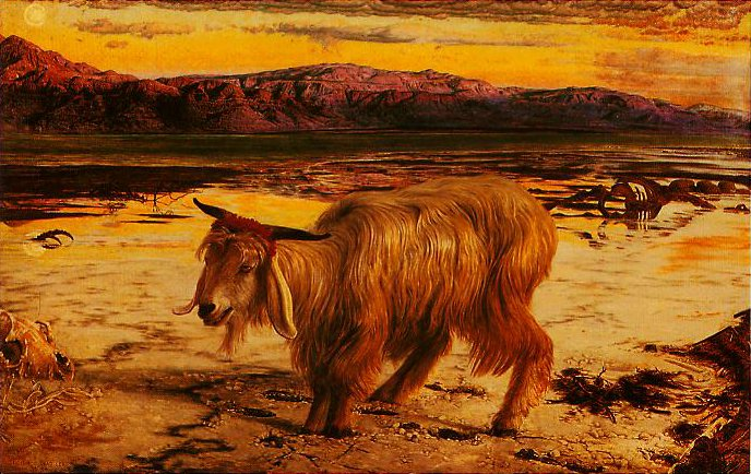 The Scapegoat | William Holman Hunt | oil painting