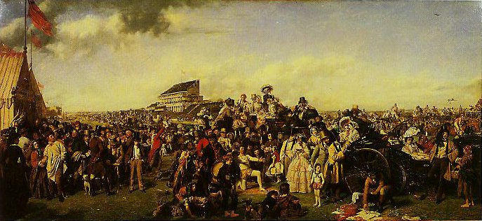Derby Day | William Powell Frich | oil painting