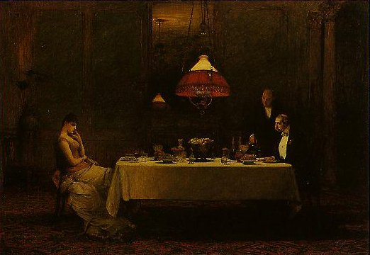 Marriage De Convenance | William Quiller Orchardson | oil painting