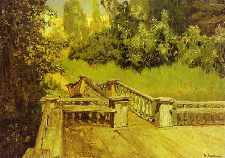 Akhtyrka 1879 Museum Estate Of V Polenov Tula Region Russia | Victor Vasnetsov | oil painting