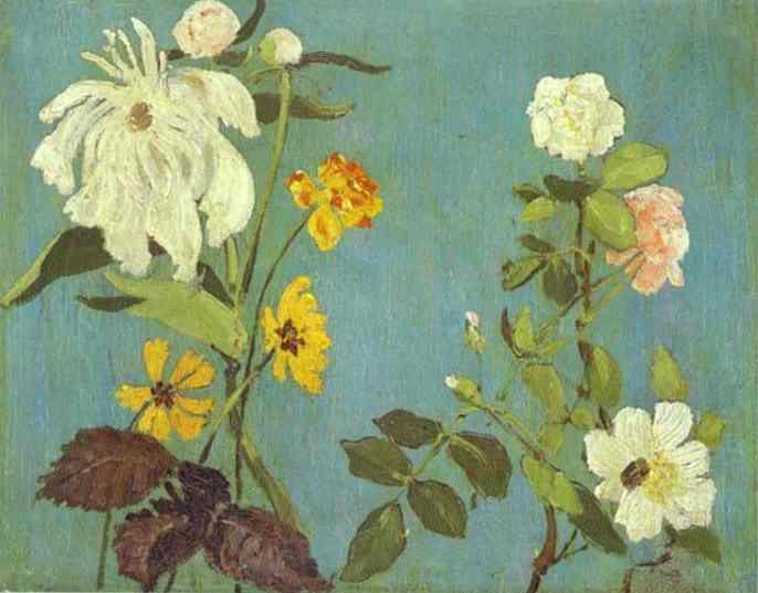 Detail Of The Fresco Of The Choir In The Abramtsevo Church 1882 | Victor Vasnetsov | oil painting