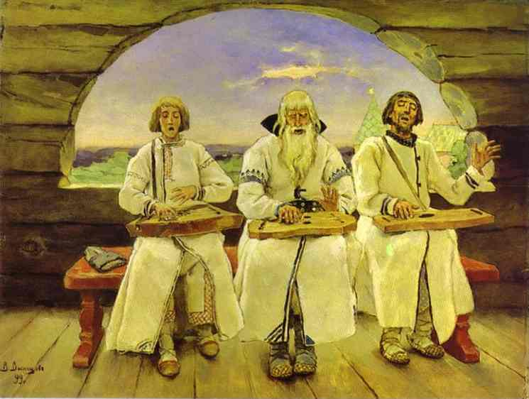 Dulcimer Players 1899 | Victor Vasnetsov | oil painting