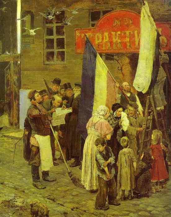 Kars Is Taken 1878 | Victor Vasnetsov | oil painting